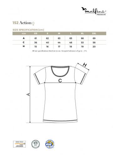 2Adler MALFINIPREMIUM Koszulka damska Action 152 formula red