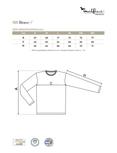 2Adler MALFINIPREMIUM Koszulka męska Brave 155 granatowy