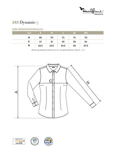 2Adler MALFINIPREMIUM Koszula damska Dynamic 263 biały