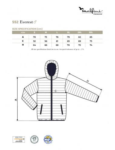 2Adler MALFINIPREMIUM Kurtka męska Everest 552 czarny