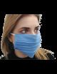 Maseczka maska ochronna na usta i nos typu Streetwear błękitny
