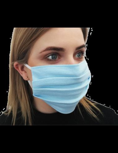 2Maseczka maska Bawełniana na usta i nos typu Streetwear mięta