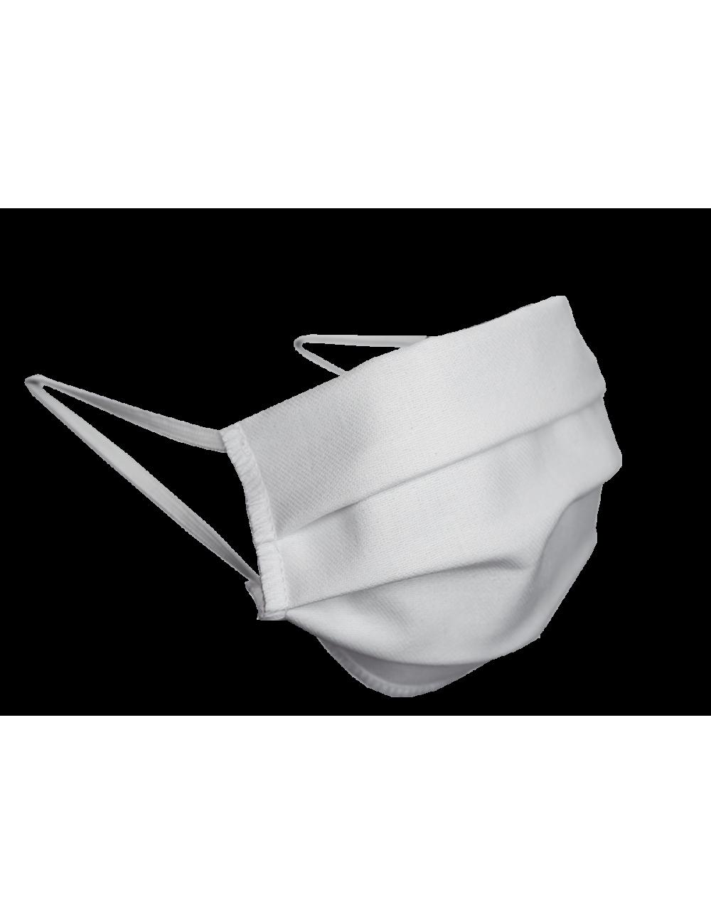 Maseczka maska Bawełniana  biała miejsce na FILTR 1szt