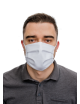 2Maseczka maska Bawełniana  biała miejsce na FILTR 1szt