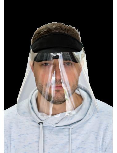 2Przyłbica ochronna na twarz maska osłona twarzy