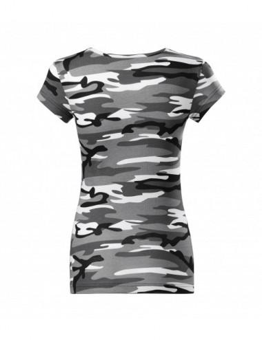 2Adler MALFINI Koszulka damska Camo Pure C22 camouflage gray