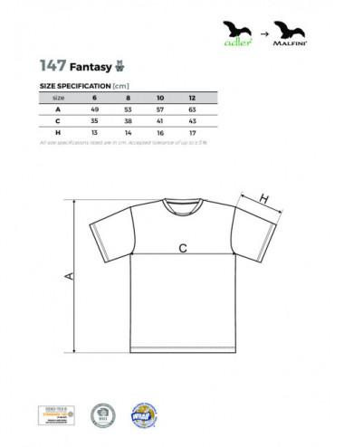2Adler MALFINI Koszulka dziecięca Fantasy 147 granatowy