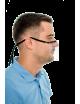 Mini przyłbica ochronna na nos i usta osłona twarzy Maska