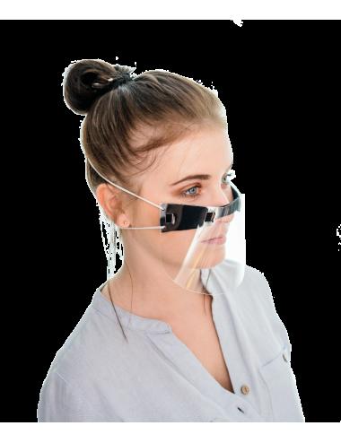 Mini przyłbica ochronna na nos i usta PET osłona twarzy