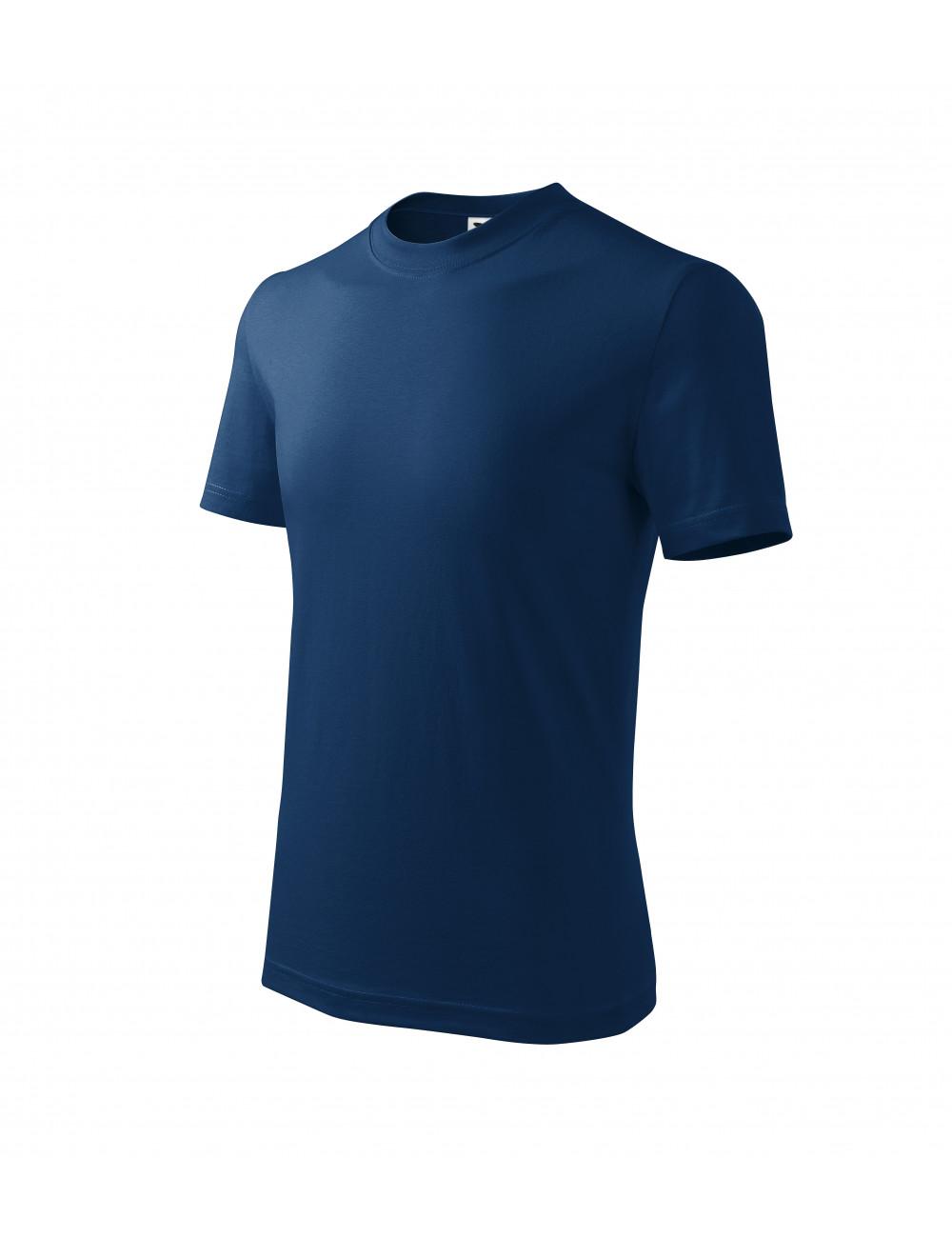 Adler MALFINI Koszulka dziecięca Basic 138 ciemnoniebieski