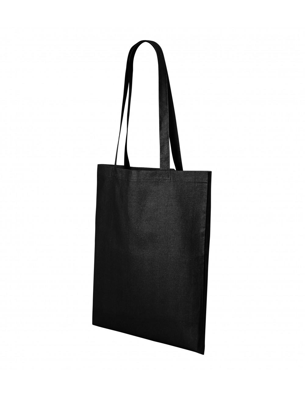 Adler MALFINI Torba na zakupy unisex Shopper 921 czarny