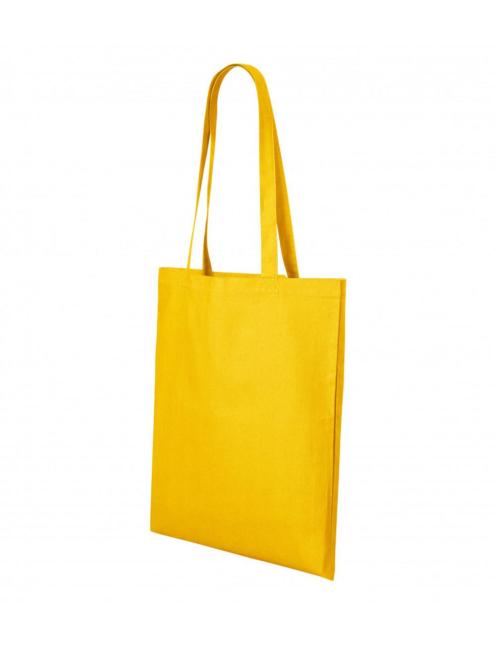 Adler MALFINI Torba na zakupy unisex Shopper 921 żółty
