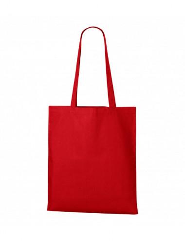 2Adler MALFINI Torba na zakupy unisex Shopper 921 czerwony