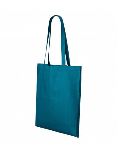 2Adler MALFINI Torba na zakupy unisex Shopper 921 petrol blue