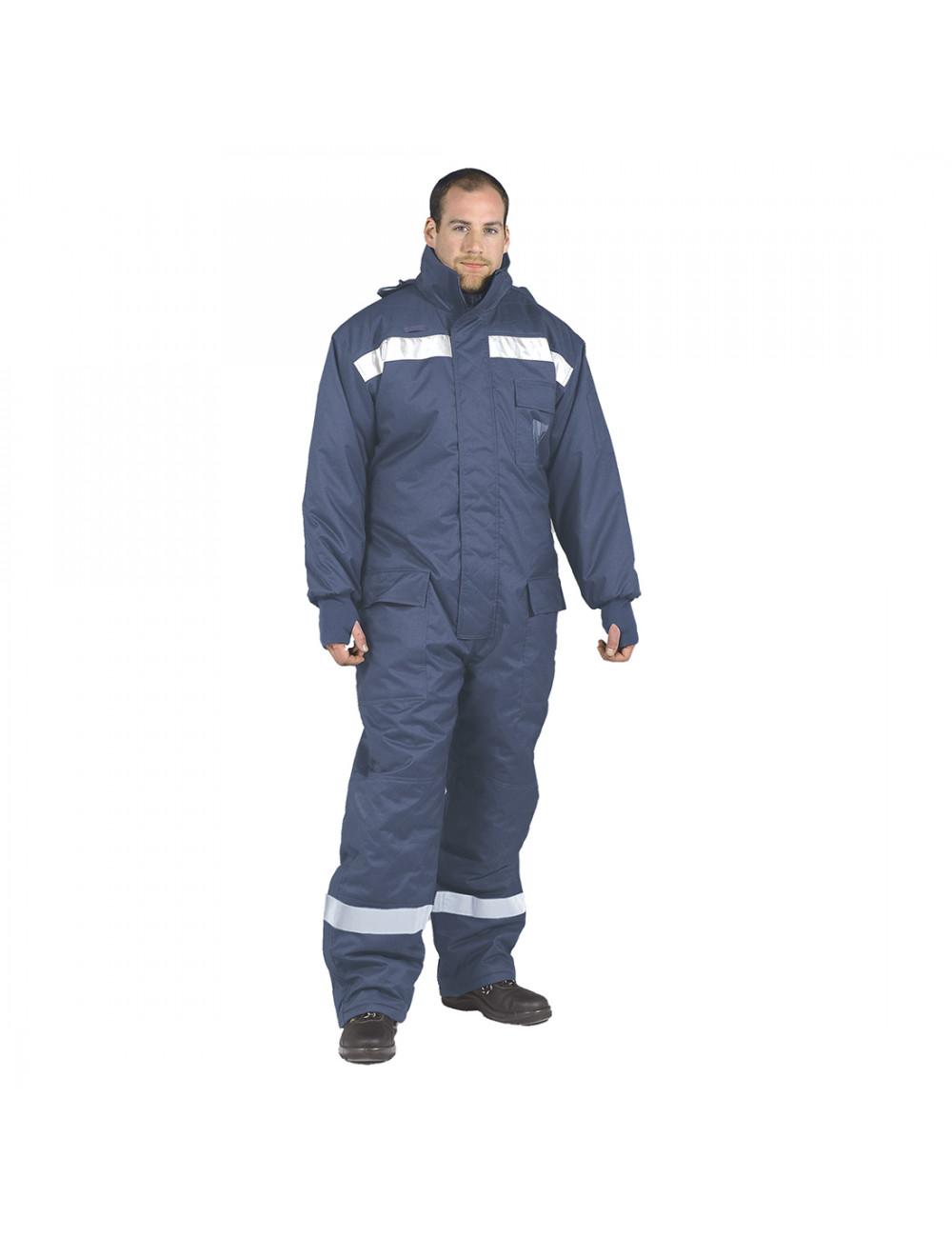 Kombinezon COLDSTORE CS-12 idealny do pracy w mroźni lub chłodni. Ochrona do -40 st.C!