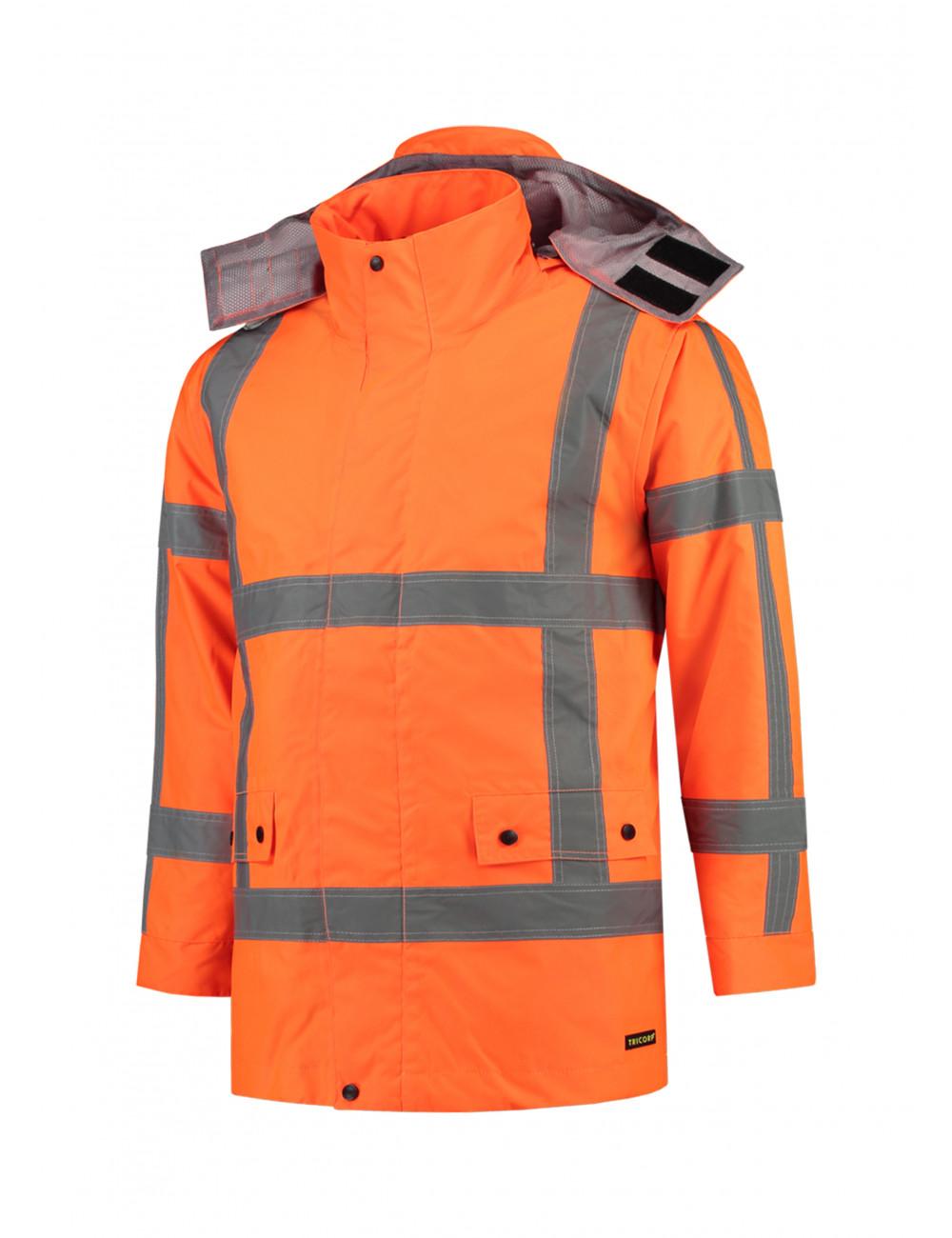 Adler TRICORP Kurtka robocze unisex RWS Parka T50 fluorescencyjny pomarańczowy