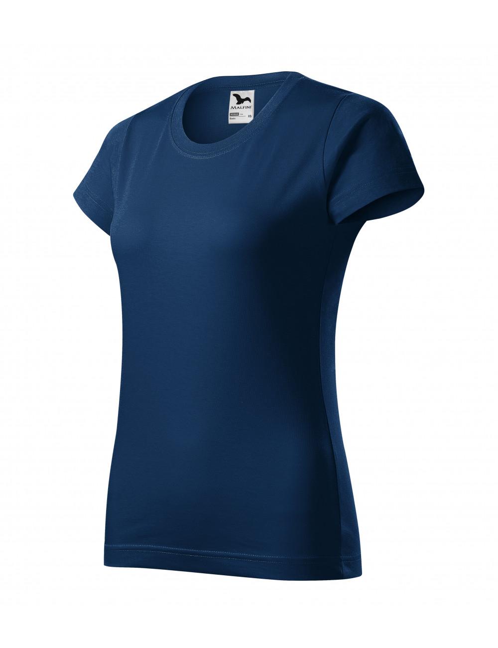 Adler MALFINI Koszulka damska Basic 134 ciemnoniebieski