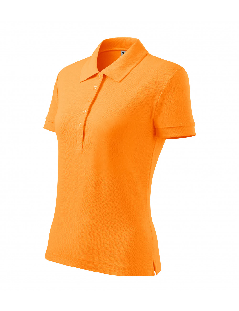 Adler MALFINI Koszulka polo damska Cotton 213 mandarynkowy