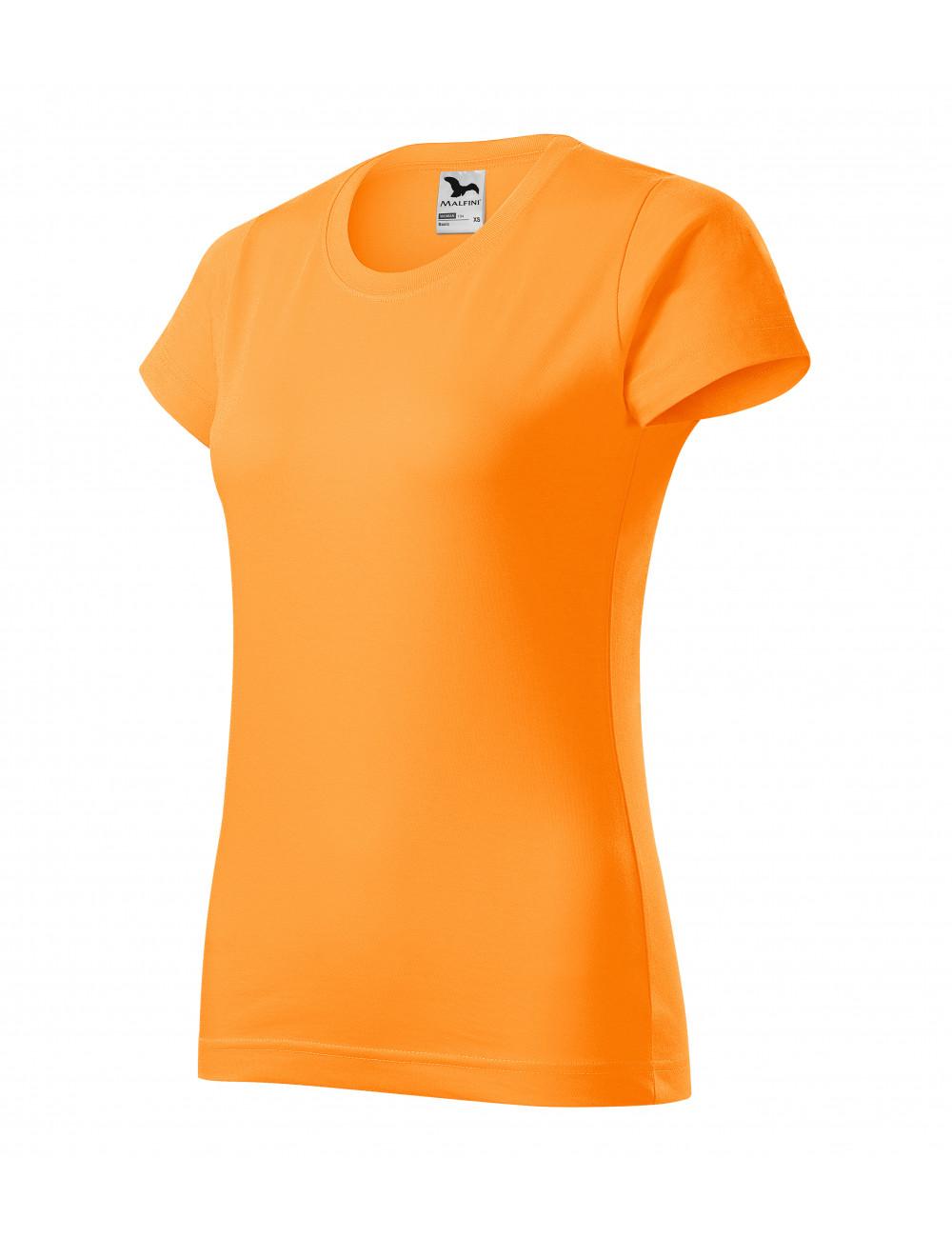 Adler MALFINI Koszulka damska Basic 134 mandarynkowy