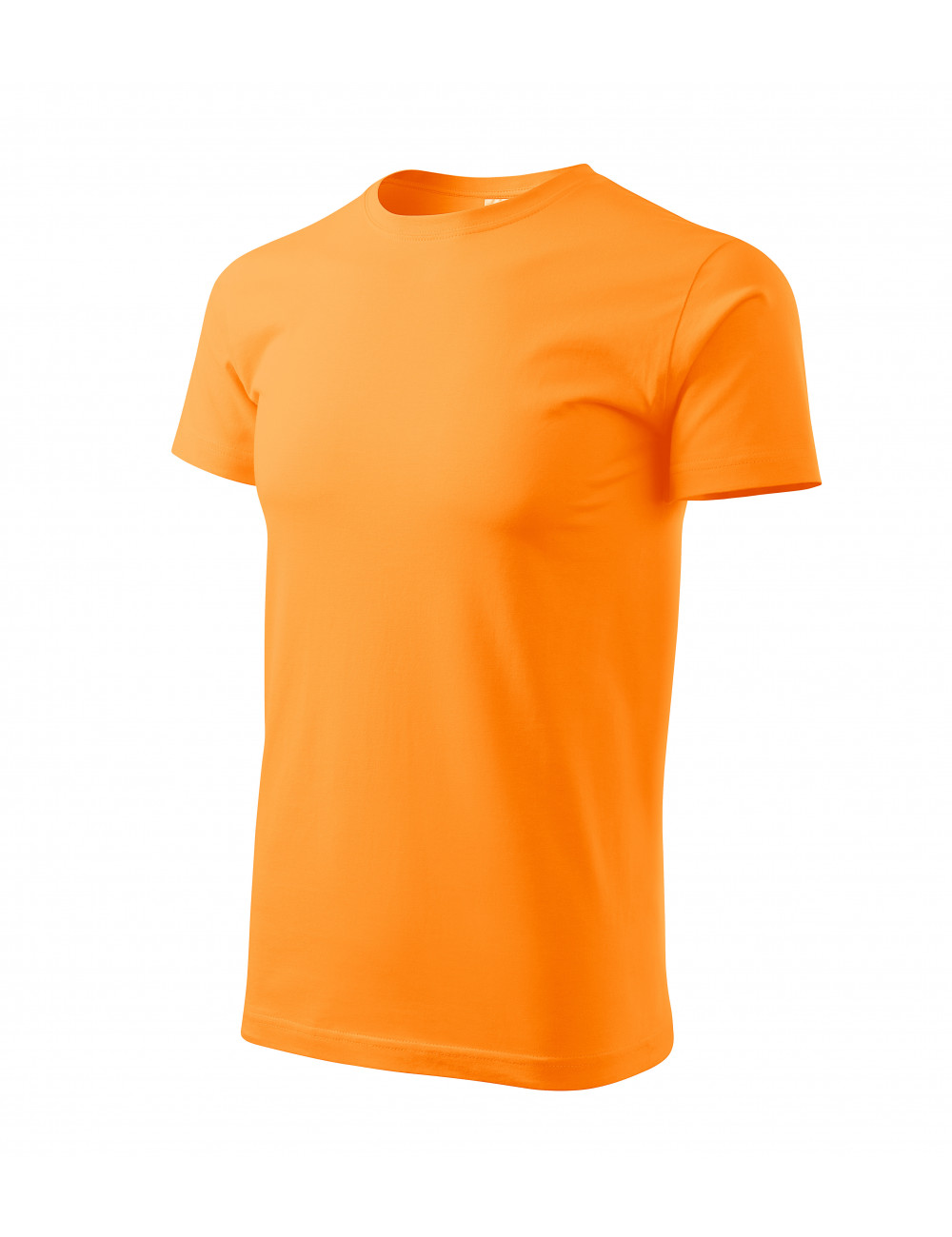 Adler MALFINI Koszulka męska Basic 129 mandarynkowy