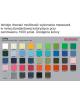 2Maseczka Męska profilowana bawełniana szara z twoim logo full color