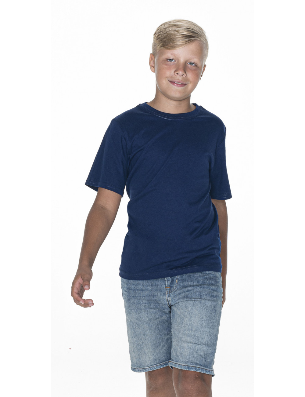GEFFER KOSZULKA Dziecięca 209 GRANATOWY