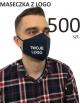 Maska ochronna Maseczki Bawełniane reklamowe 500 sztuk profilowane z logo nadruk