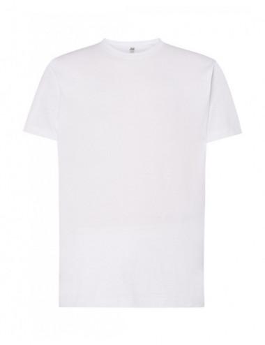 JHK Koszulka męska TSUA 150 SLIM FIT T-SHIRT Biały