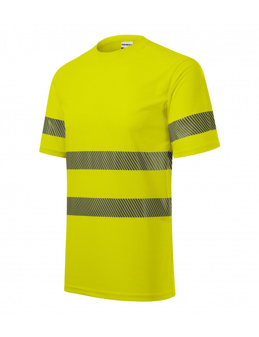 Adler RIMECK Koszulka unisex HV Dry 1V8 fluorescencyjny żółty