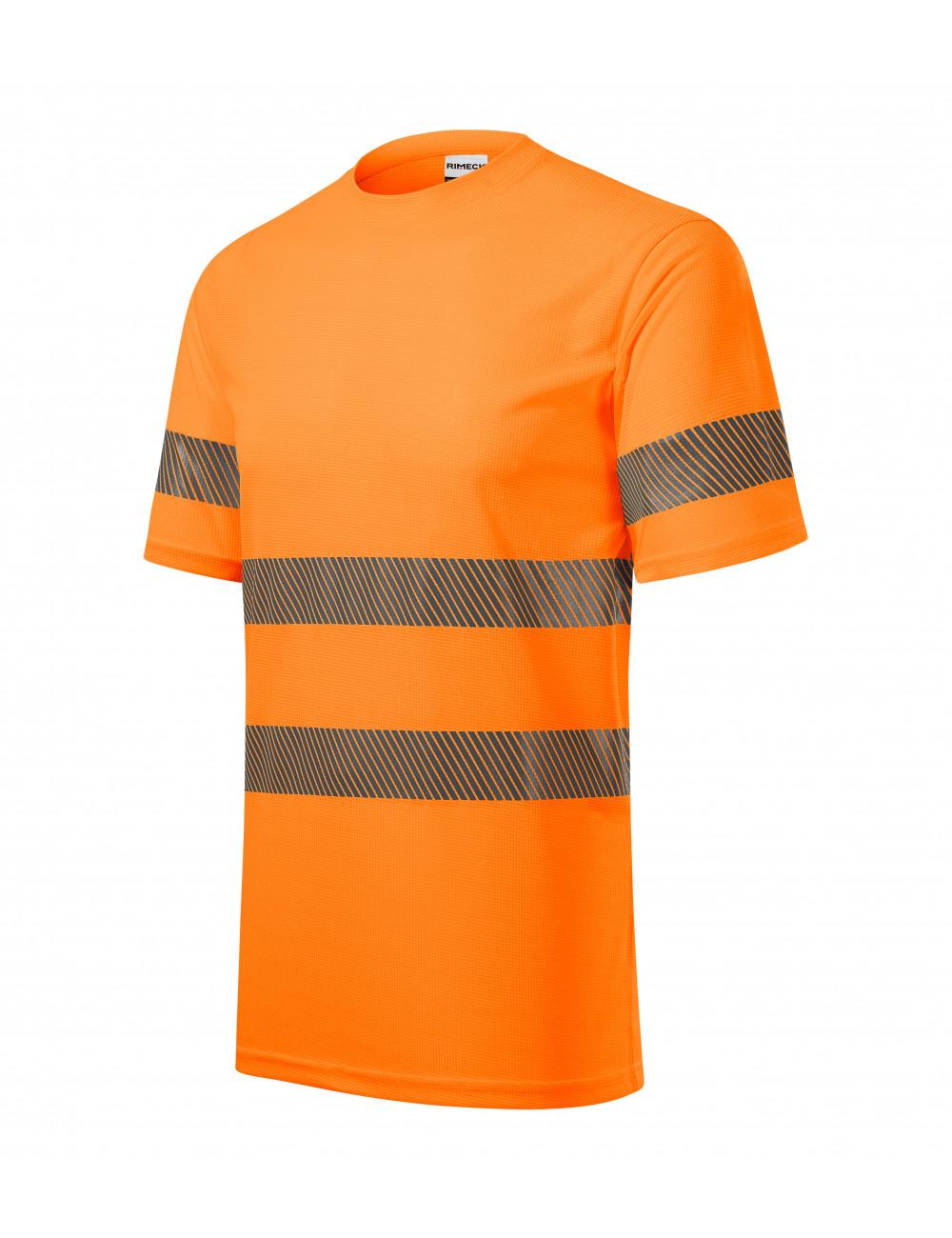 Adler RIMECK Koszulka unisex HV Dry 1V8 fluorescencyjny pomarańczowy