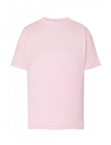 JHK Koszulka dziecięca TSRK 150 REGULAR KID Różowy