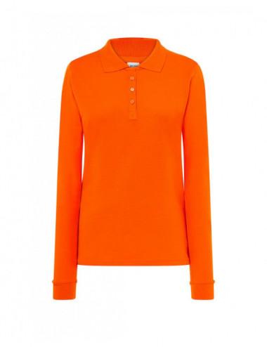 JHK Koszulki Polo damska POPL 200 LS Orange
