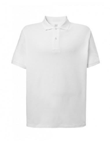 JHK Koszulka Polo męska POLO PORA 210 WK WH White