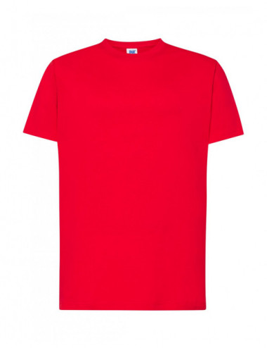 JHK Koszulka męska TSRA 170 REGULAR HIT T-SHIRT Czerwony