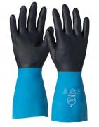 Rękawice gumowe oraz z tworzyw
